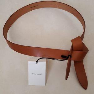 NWT Isabel Marant Ceinture Lecce Leather Belt Sz M
